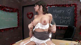 Brazzers-Slutty Teacher Celebrating Valentines Day PornZek.Com