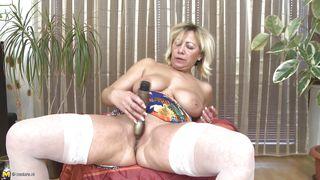 Mature Nl-Milu Can't Imagine Her Life Without Good Masturbation PornZek.Com