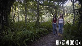 Fetish Network-Lost Teen Gets Face Fucked Out In The Woods PornZek.Com