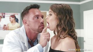 Riley Reid Tastes Her Doctor's Juicy Dick