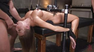Britney Amber In The Basement Of The Armory