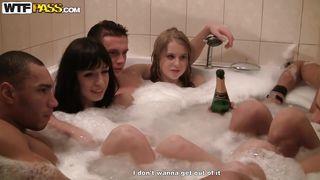 Wtf Pass-A Foam Bath And Some Fucking After PornZek.Com
