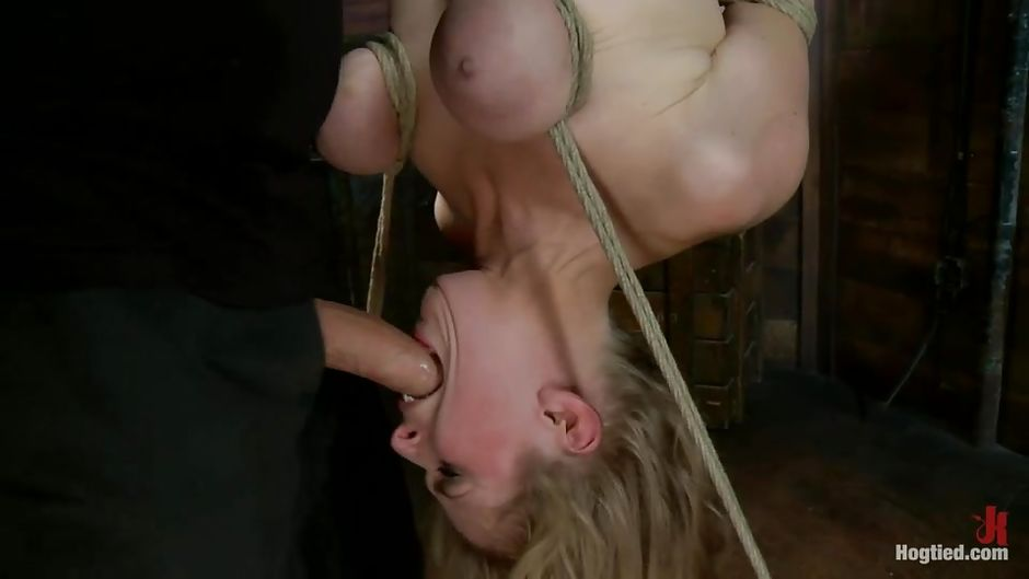 Piece thank Tied arms blowjob cum mouth