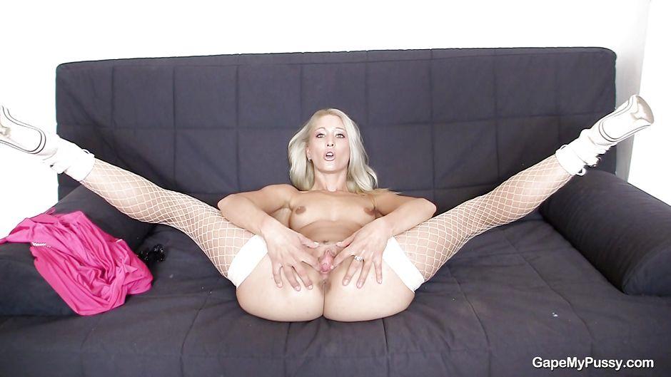 Legs Spread Hairy Pussy
