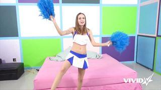 Vivid-She Thinks That Cheerleading Might Change Her Career PornZek.Com