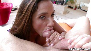 Bangbros-Busty Latin Milf Sucking Cock With Pleasure PornZek.Com
