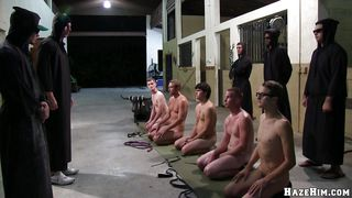 Four Oiled Guys Are Doing Nasty Stuff