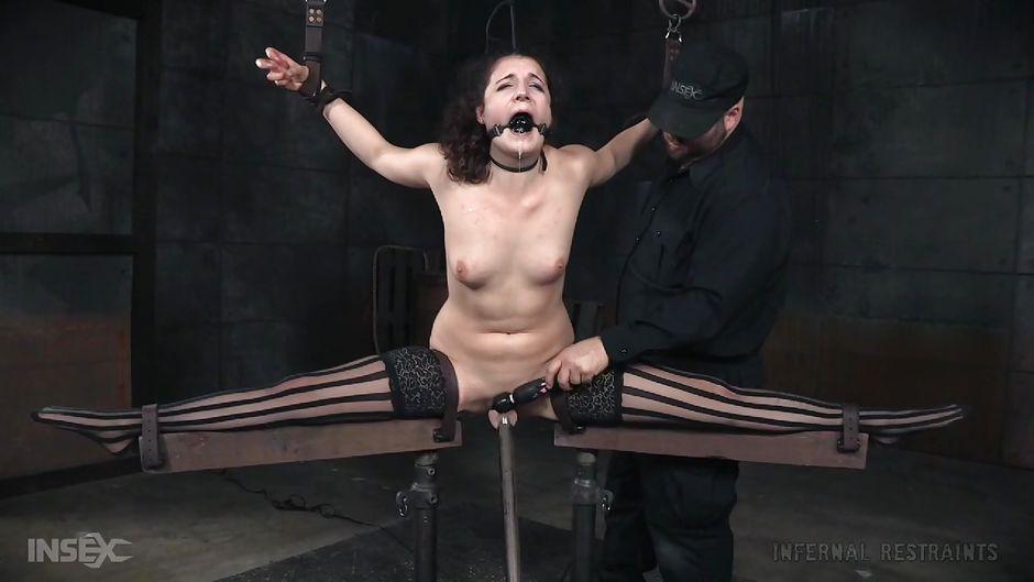 Hot granny bound metal milf pierced goth riding huge dildo - 2 part 10
