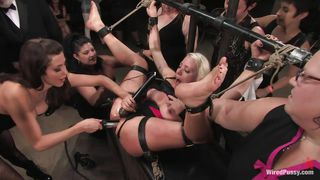 Blonde Receives More Than She Can Handle