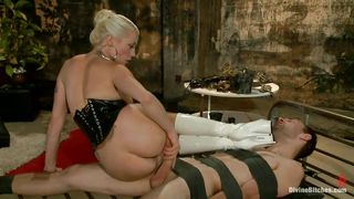 Lorelei Lee's Slave Desperately Tries To Please Her