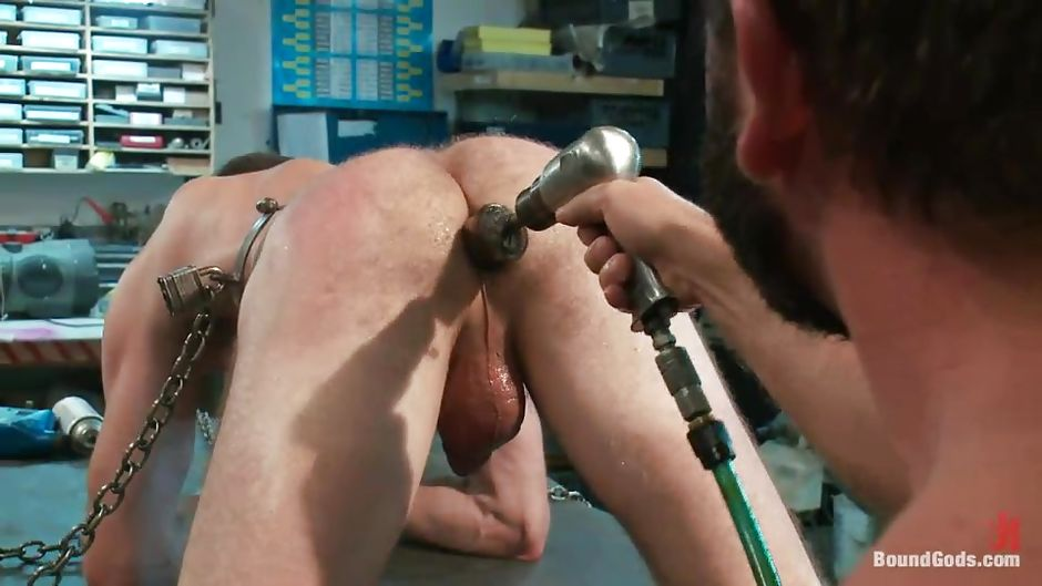 image Shaved balls guy fucked by redhead tranny