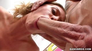 Green Eyed Blonde Pleasing To Eyes And Cocks