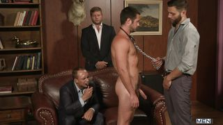Sex Slave Brought In To Please His Masters