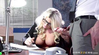Johnny Bangs Julie In Office