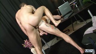 Gay Guys Having An Anal Session At Office
