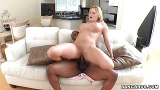 Busty Babe Getting A Hardcore Interracial PornZek.Com