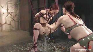 Kink-Sabrina Sparx Japanese Bondage Punishment PornZek.Com
