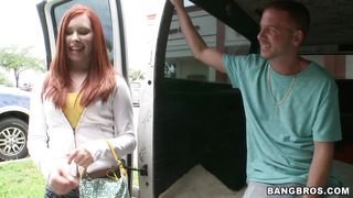 Bangbros-Hot Redhead That Take A Ride In The Bang Bus PornZek.Com