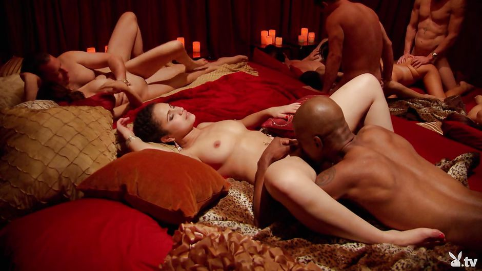 Blonde Interracial Dp Hd