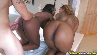 Reality Kings-Two Big Booty's Sluts Sharing A Hard Dick PornZek.Com