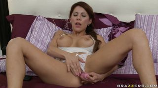 Horny Redhead Fingers Her Tight Pussy