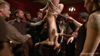 Wenona Is Tied Up With Rope And Publicly Humiliated