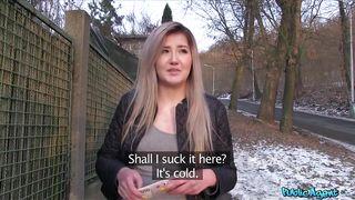 Fake Hub-Come Out Of The Cold And Suck Me Off For Money PornZek.Com