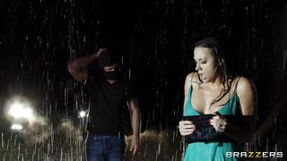 Brazzers-Milf Wife Gets Her Clothes Ripped Under The Rain PornZek.Com