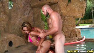Reality Kings-Sexy Latina Fucked Near Swimming Area PornZek.Com