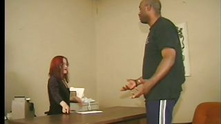 Redhead Midget Chick And A Big Black Guy