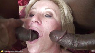 Mature Nl-Two Bbc For A Cum Hungry Mature Blonde PornZek.Com