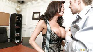 Brazzers-Veronica Erotic Sex Scene At Office PornZek.Com