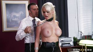 Brazzers-Hot Blonde Makes Boss Horny PornZek.Com