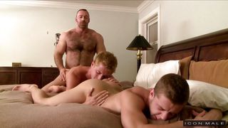 Cute Guy Gets Tag Teamed By His Stepfather And Friend  Baby Boy
