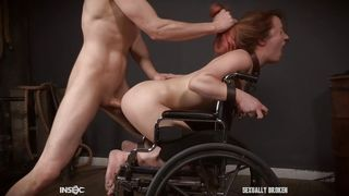 She Was Fucked While Sitting In The Wheelchair