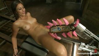 Rilynn Rae Fucked By Elaborate Sex Machine