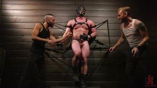 Blake Hunter In Kinky Bdsm Gay Threesome