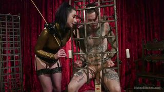 Kink-This Cage Is Probably The Best Place For You PornZek.Com