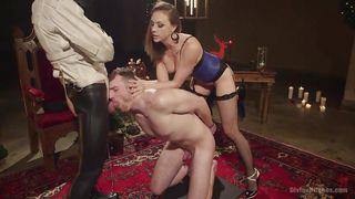Slave Boy Sucks Cock For Mistress