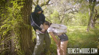 Teens In The Woods