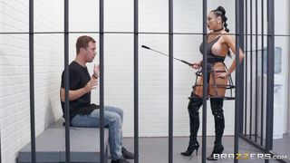Busty Mistress Will Fuck Him To Death