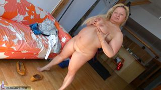 Nanny Takes Of Her Clothes And Inhibitions