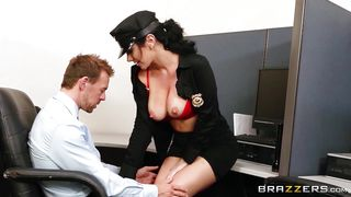 Sexy Officer Sucking A Big Dick