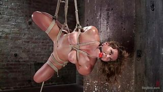 Nasty Ariel Gets Tied Up And Punished