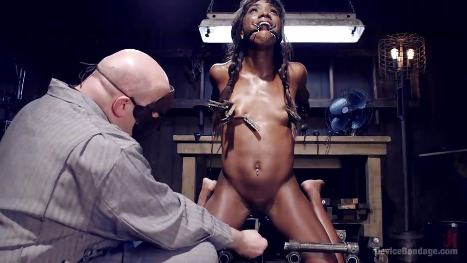 Black african babe gets fucked by american guy - 3 part 9