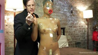 Kink-Sex Doll Fully Dressed In Latex PornZek.Com