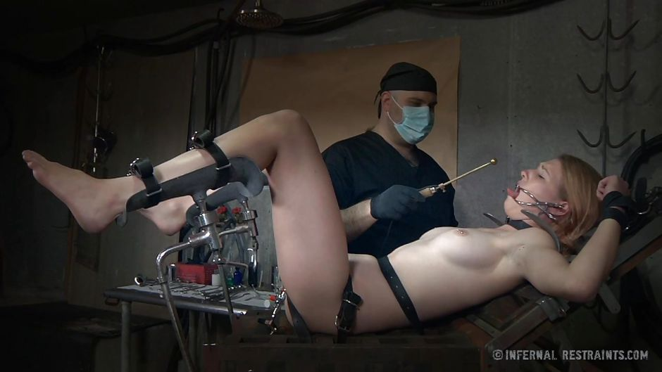 Girl punishment with rectal temp and suppository 10