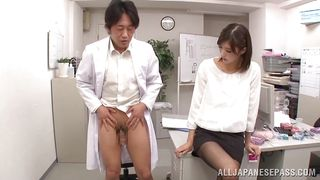 Hot Japanese Sex On The Workplace