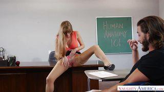 Experienced Teacher Seduces A Well Endowed Student