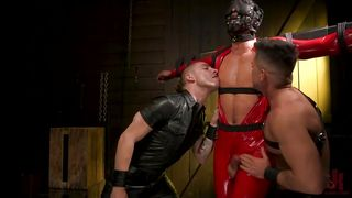 Colby Tucker Gets Punished By His Horny Friends